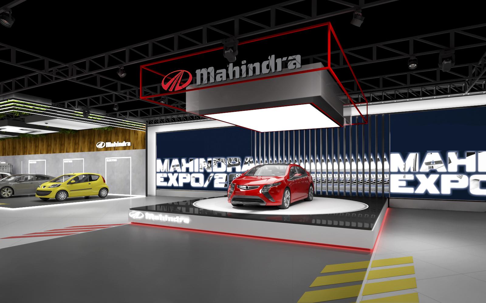 mahendra pavilion auto expo 2020
