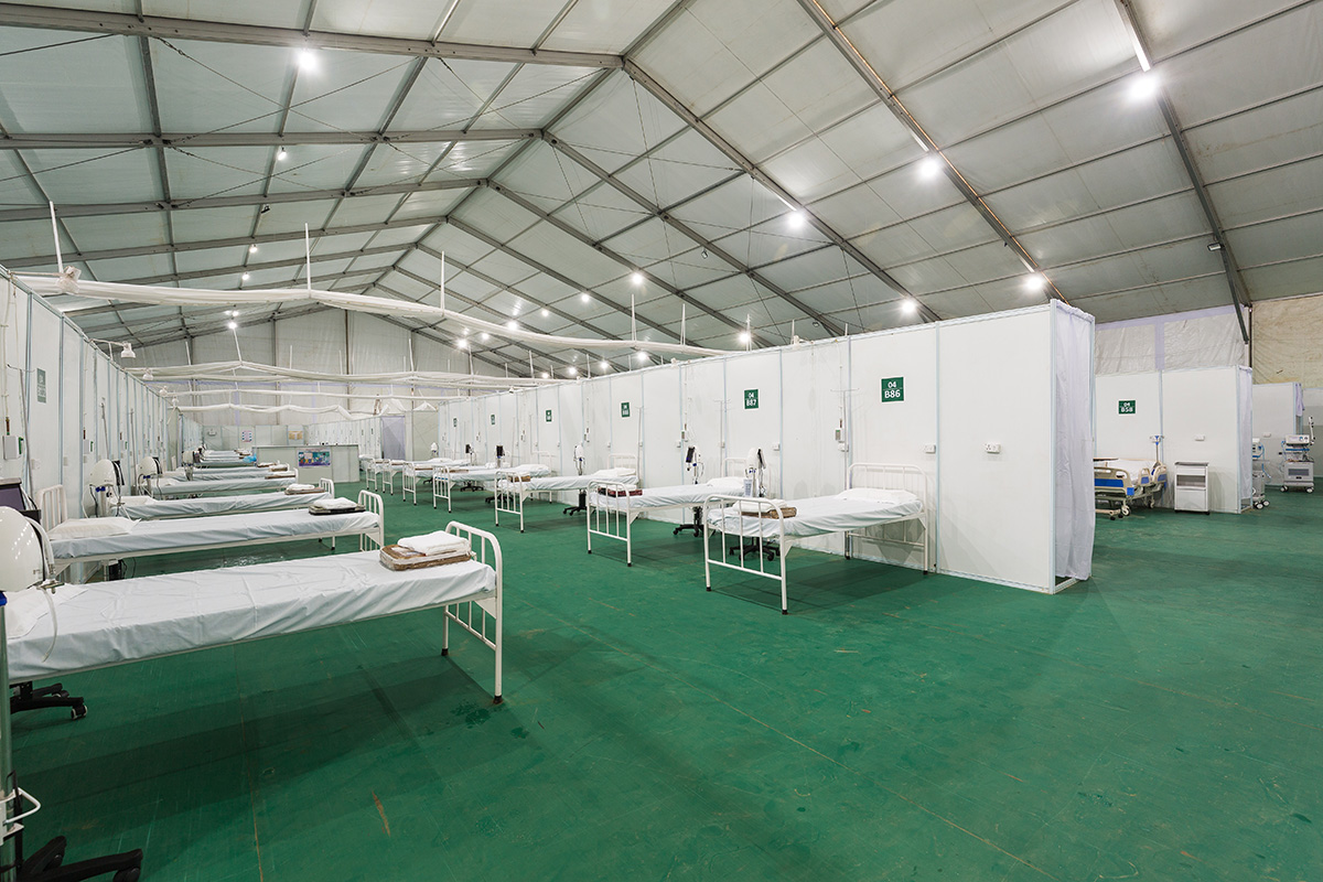 Makeshift Hospital